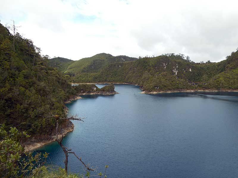 Laghi di Montebello in Chiapas, Messico