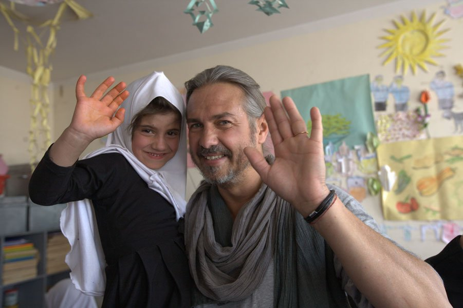 Luca  Lo presti Pangea Onlus a Kabul