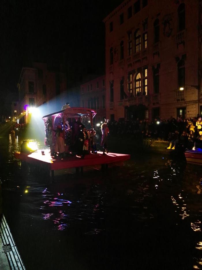 Carnevale di Venezia 2018 opening al Cannareggio