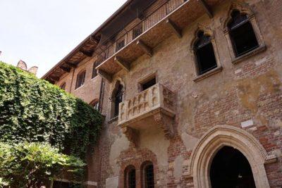 Casa di Giulietta a Verona - balcone