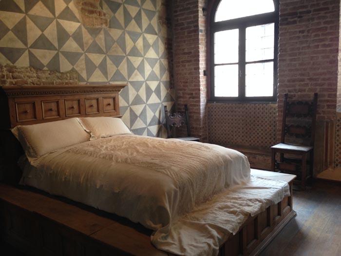 Casa di Giulietta a Verona - letto