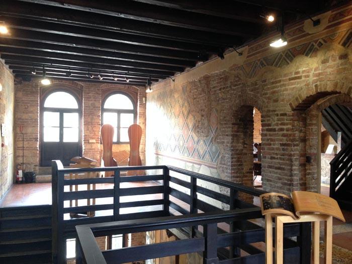 Casa di Giulietta a Verona - interno