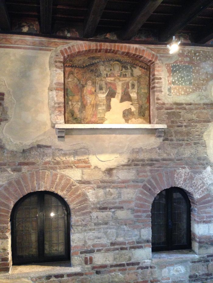Casa di Giulietta a Verona - affreschi