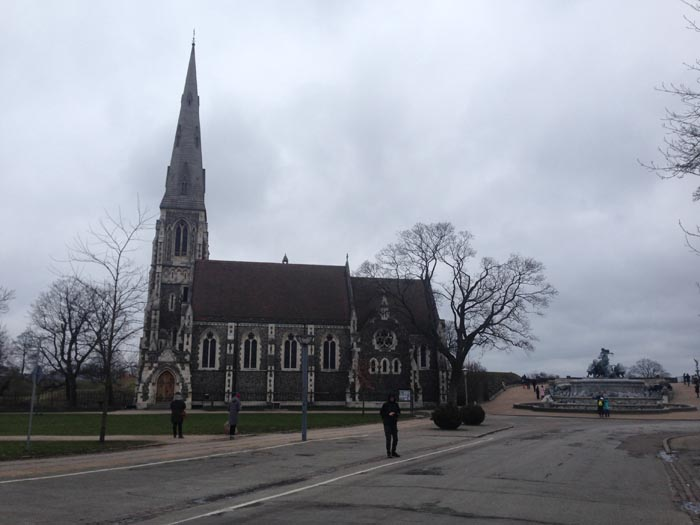 St Alban's Church a Copenaghen