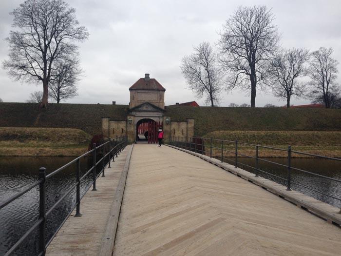 Kastellet Copenaghen - ingresso