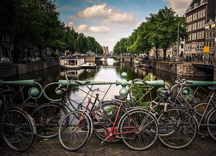 Tour in bici ad Amsterdam