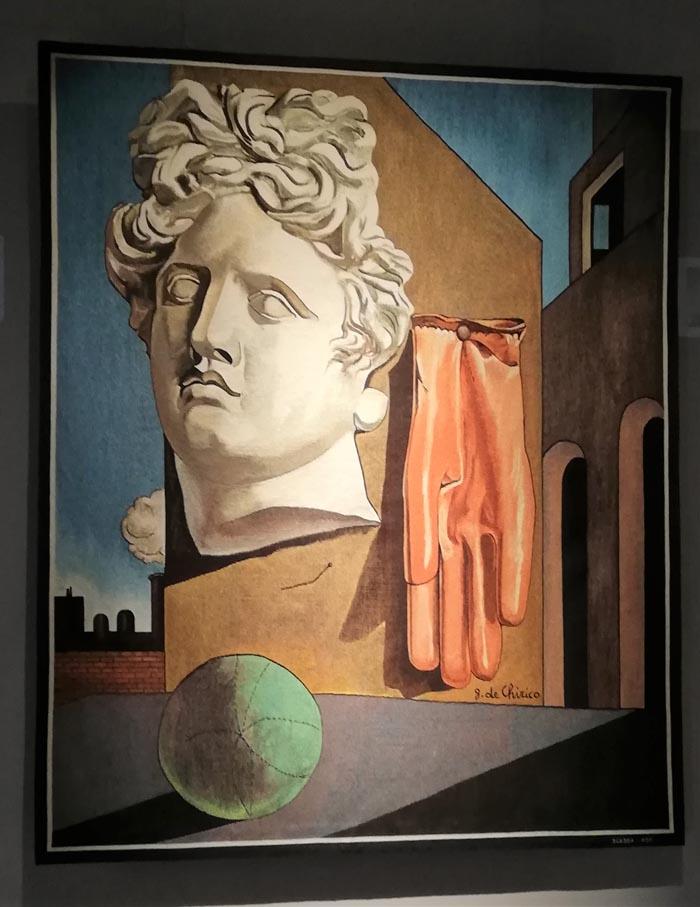 Arazzo Scassa - Giorgio de Chirico
