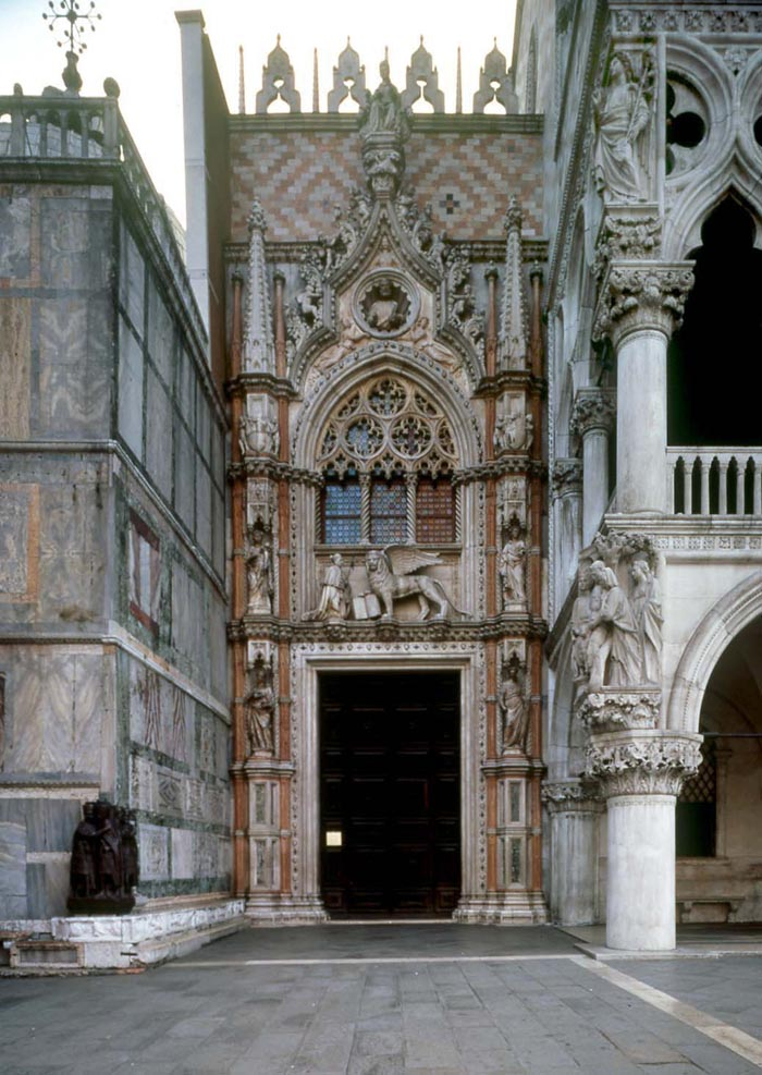 Palazzo Ducale Venezia - Porta della Carta