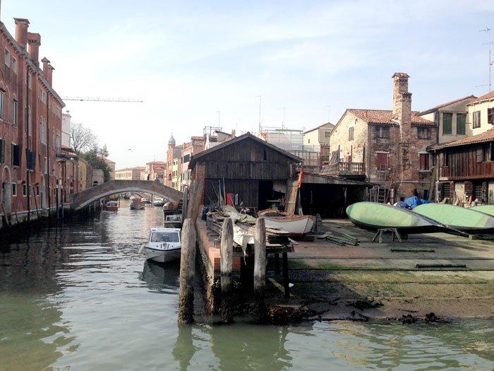 Squero di San Trovaso a Venezia
