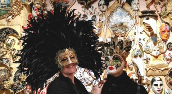 maschera di carnevale veneziana