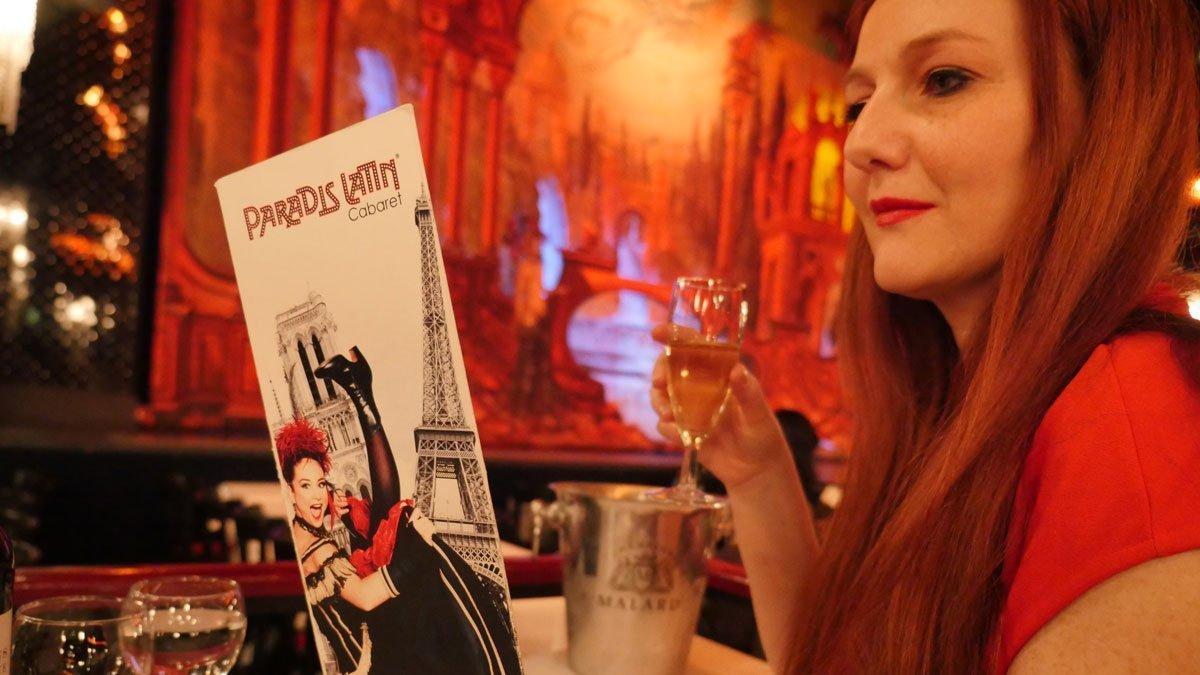 Paradis Latin, cena e cabaret a Parigi