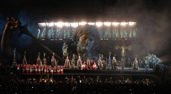 Tosca di Puccini in Arena di Verona