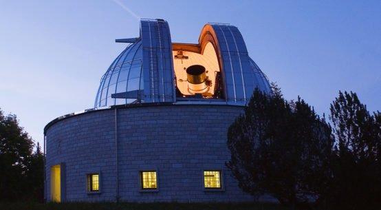 Il telescopio Galileo nell'Osservatorio Astronomico di Asiago