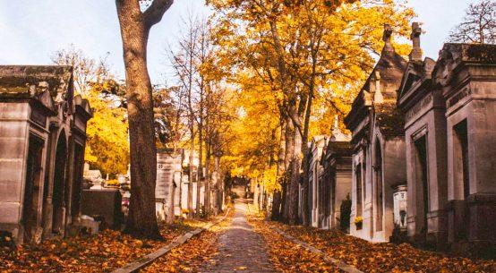 Père-Lachaise cimitero di Parigi